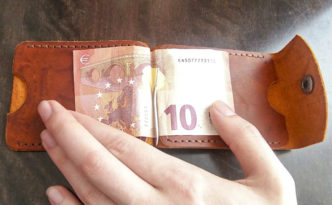 Зажим для денег своими руками из кожи