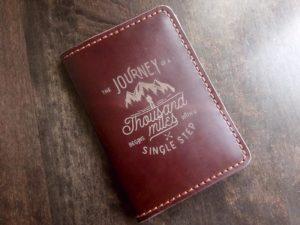 Обложка для паспорта из натуральной кожи своими руками с гравировкой