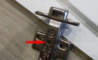 регулировка мебельных петель с доводчиком своими руками